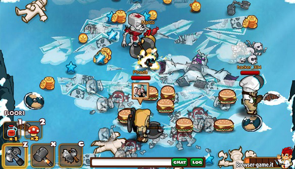 Gameplay Dungeon Rampage