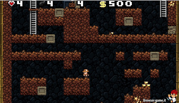 Gameplay Spelunky