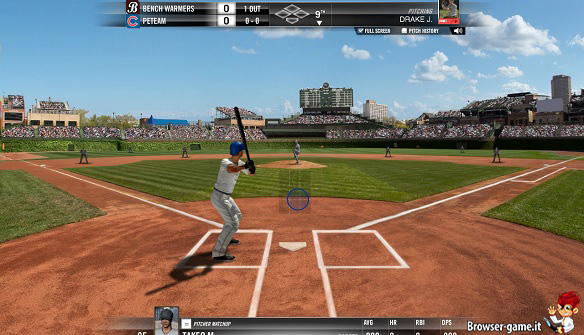 Gameplay WGT Baseball MLB
