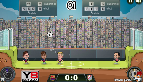 Gameplay Football Legends