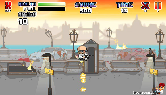 Gameplay Zombie Cops of London