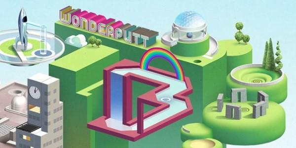 Wonderputt: originale browser game di minigolf