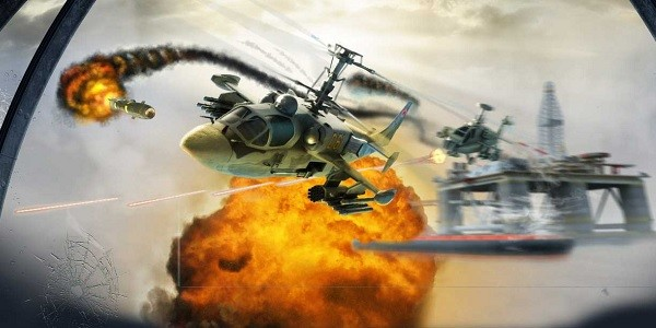 CHAOS: gioco online sparatutto con elicotteri militari