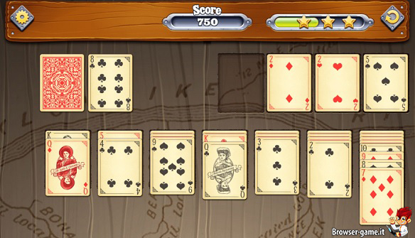 Carte Solitaire Quest