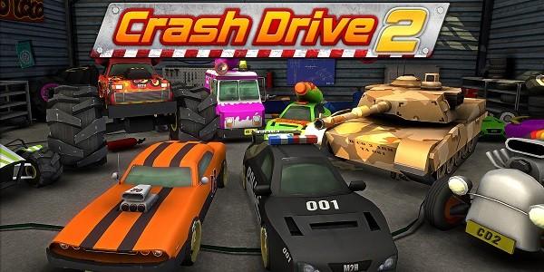 Crash Drive 2: gioco arcade di gare automobilistiche