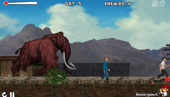 Mammut Smilodon Rampage