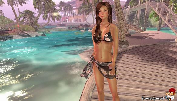 Bella ragazza Second Life