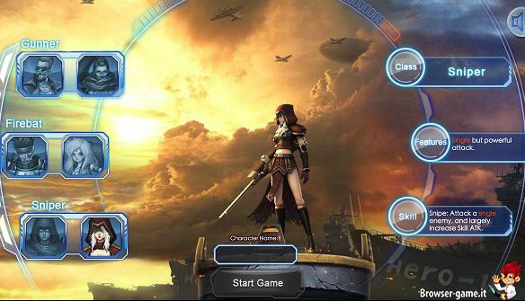 Creazione personaggio BioWar 2