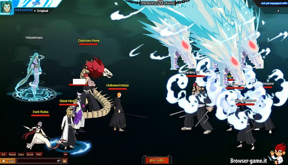 Combattimento Bleach Online