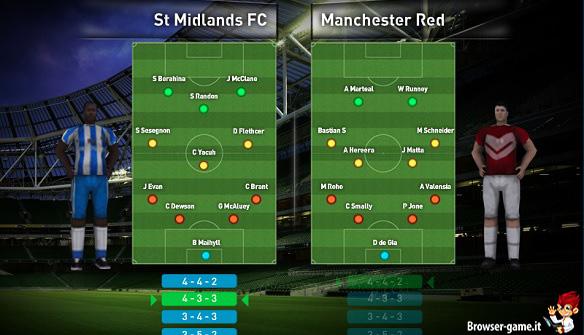 Formazioni England Soccer League