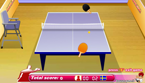 Gameplay Legend of Ping Pong