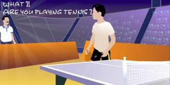Legend of Ping Pong: browser game di ping pong