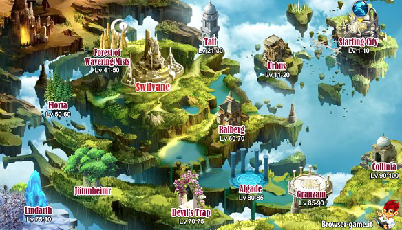 Mappa Sao's Legend