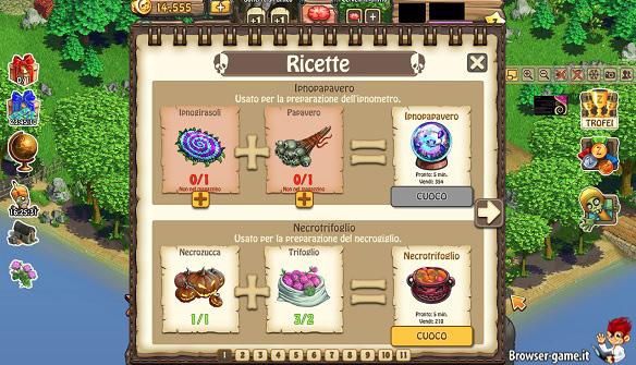 Ricette Zombie Island