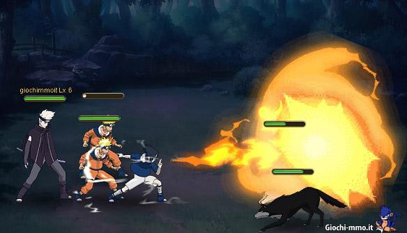 Attacco-Sasuke-Naruto-Online