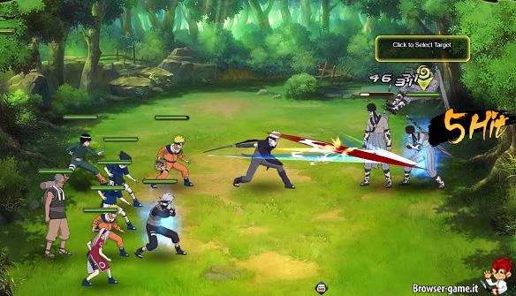 Combattimento Naruto Online