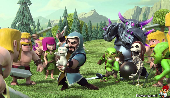 Personaggi Clash of Clans