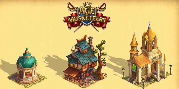 Age of Musketeers: nuovo browser game di strategia