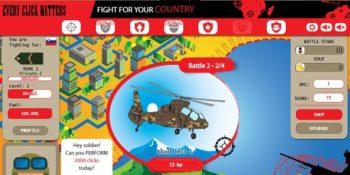 War Clicks: nuovo clicking game di guerra