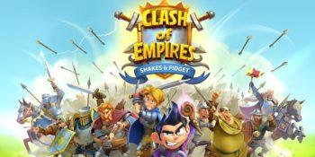 Clash of Empires: nuovo gioco di strategia di Shakes & Fidget