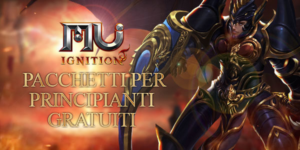 MU Ignition: Starter Pack gratuito per tutti