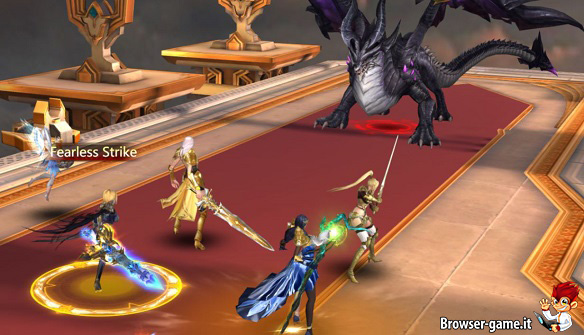 League of Angels 3: nuovo browser MMORPG in 3D